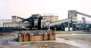 Pye Hill No.2 Colliery in its last week of production in 1985.