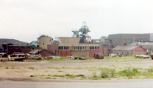Teversal Colliery in 1980.