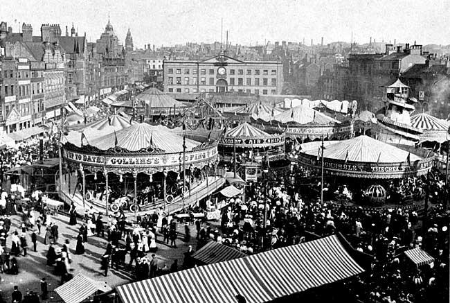 Nottingham Goose Fair Dates