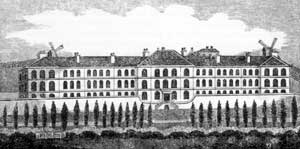 The General Lunatic Asylum, c.1815.