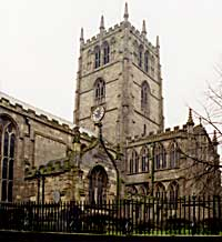 St Mary's church (photo: A Nicholson, 2001).