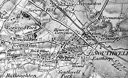 The Nottinghamshire Heritage Gateway Places Southwell Cartographic - Old os maps