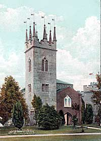 St Peter's church, Tollerton in 1905.