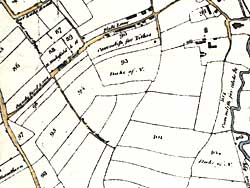 Basford enclosure map, 1790