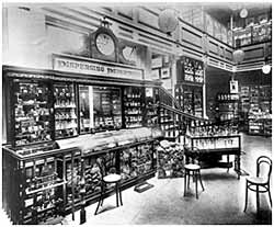 Dispensing Department, Pelham Street Store, 1892 (CAIS 1146)