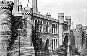 The House of Correction on St John's Street, Nottingham was demolished in 1899.