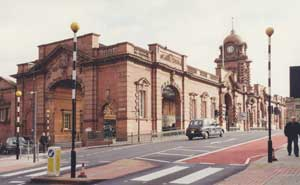 Midland Station, Nottingham.