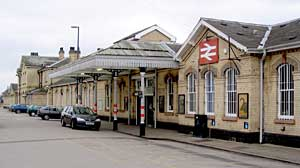 Retford station in 2006.